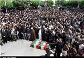 پیکر 2 شهید گمنام در کوثر اردبیل تشییع شد