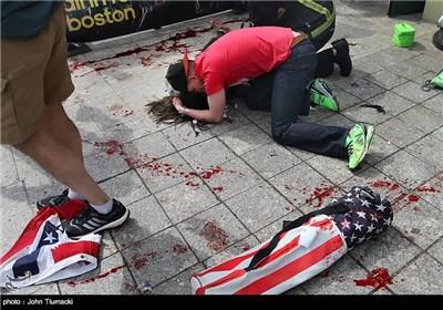 انفجارهای بوستون آمریکا