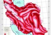 کانون های زلزله در ایران