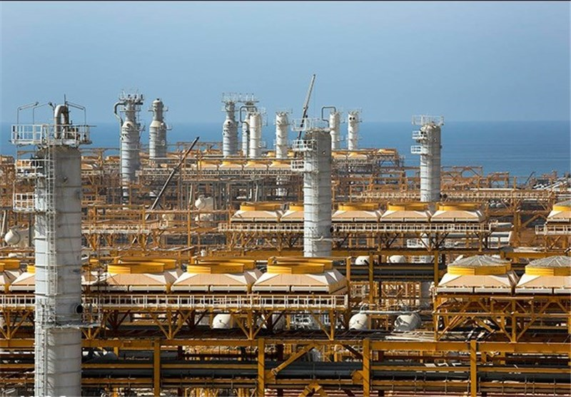 Iran's South Pars Energy Zone Ups Exports of Gas Condensate by 80%