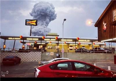 انفجار در ایالت تگزاس امریکا