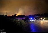 سقوط یک فروند هواپیمای نظامی آمریکا در منطقه مسکونی تگزاس