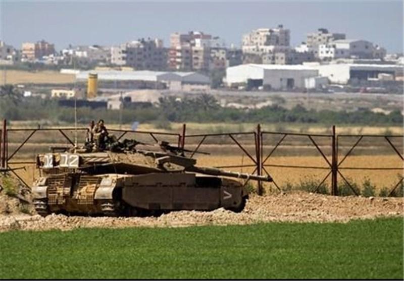 الجزیره خبر داد: حرکت تانکهای ارتش رژیم صهیونیستی به اطراف نوار غزه