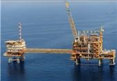 تولید 800 میلیون فوت مکعب گاز از سکوی B فاز 12