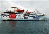 اقدام ارتش ترکیه علیه یک کشتی رژیم صهیونیستی در سواحل قبرس