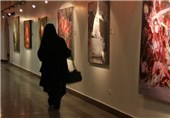 نمایشگاه نقاشی بوم سفید در نیشابور برپا شد