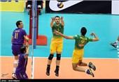 تیم والیبال رعد کاشان در مقابل شهرداری ساری شکست خورد