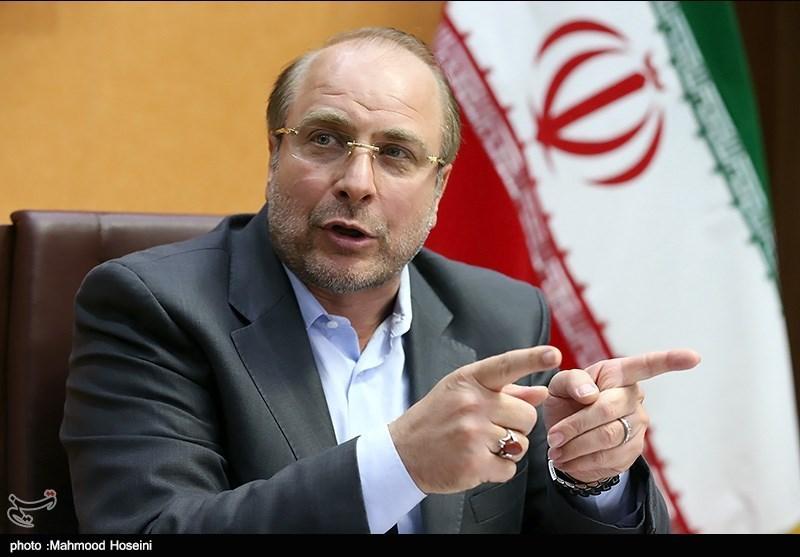 حضور محمد باقر قالیباف در خبرگزاری تسنیم