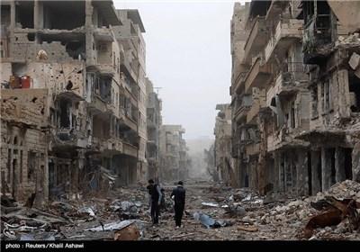ویرانی های جنگ داخلی سوریه