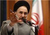 محمد خاتمی: بنده نمیگویم در انتخابات 88 تقلب شده است + صوت