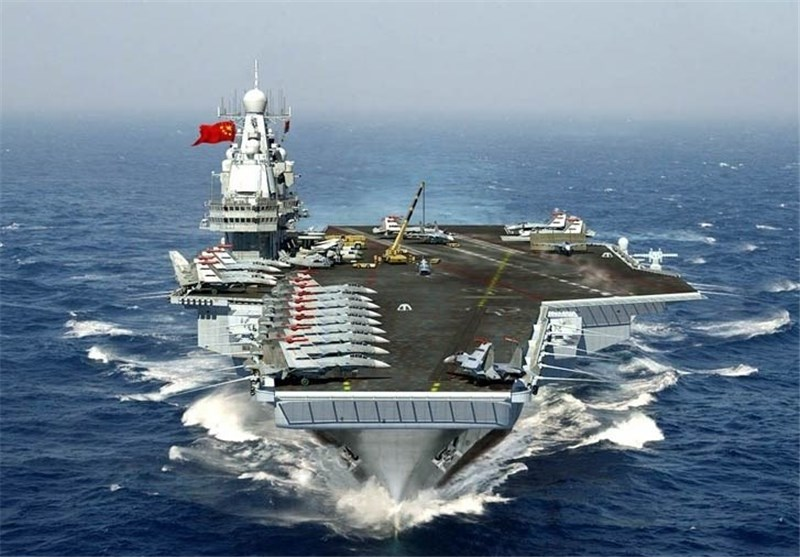 China's Aircraft Carrier Sails by Taiwan as Tensions Rise