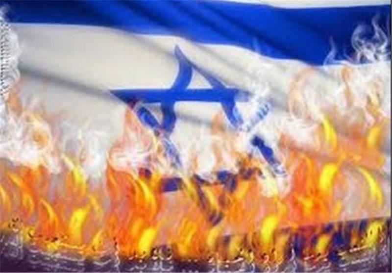 اسرائيل تحترق