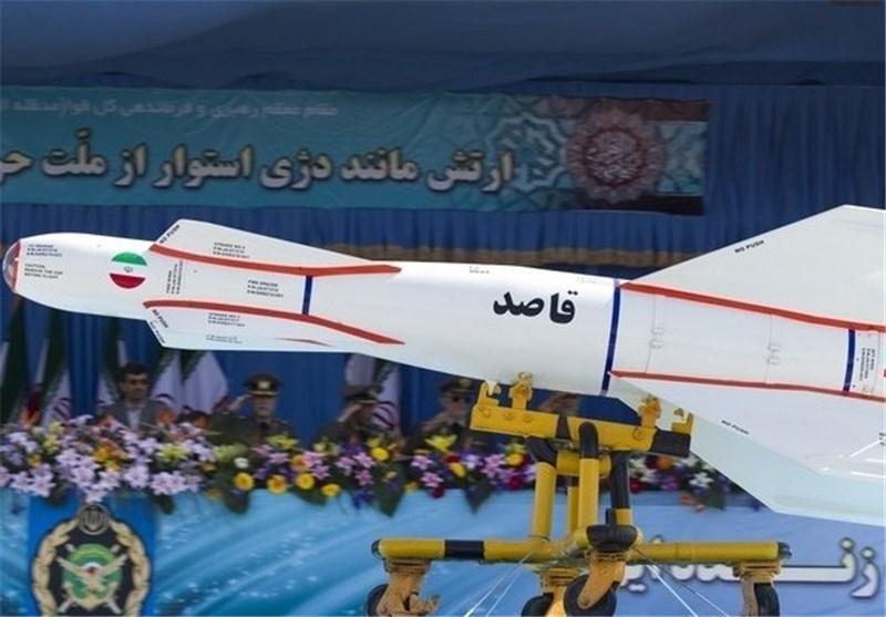 ساخت ایران  بمب هوشمند 2000 پوندی قاصد + تصاویر