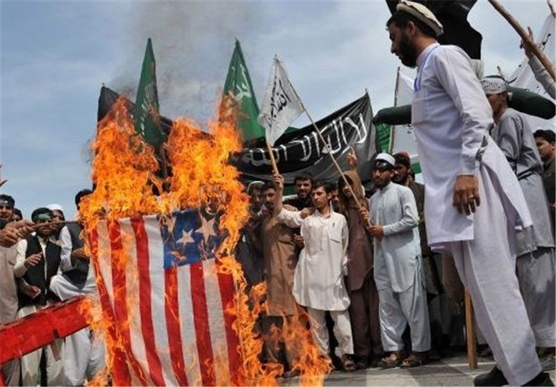 Afghans Rally against Potential Pact with US