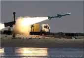 Iran's Navy Fires Cruise Missiles in War Game