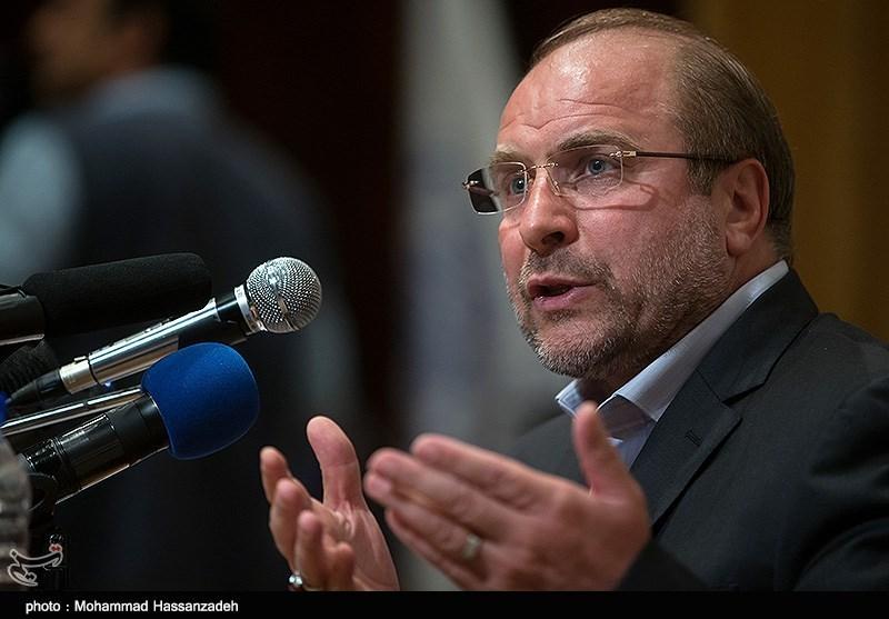 نشست انتخاباتی محمدباقر قالیباف در دانشگاه صنعتی شریف