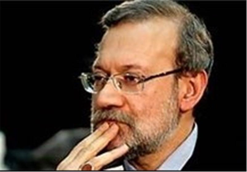 لاریجانی : الغارات ضد سوریا جرت بعلم امریکا و بعض الدول العربیة