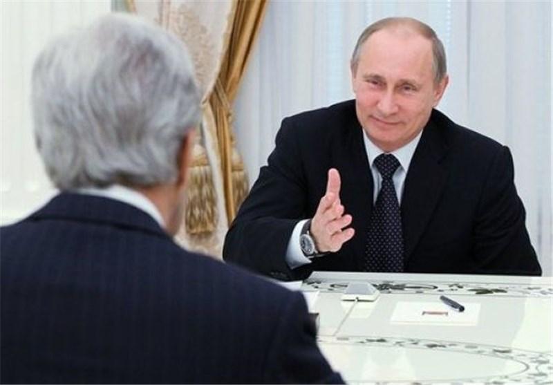 بوتين وجون كيري