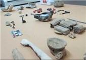 کشف اشیاء عتیقه و تاریخی در شهرستان آذرشهر