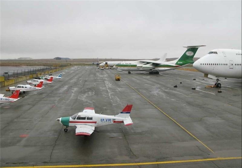 برقراری پروازهای مسافری فرودگاه پیام؛ نخستین پرواز به مقصد مشهد مقدس