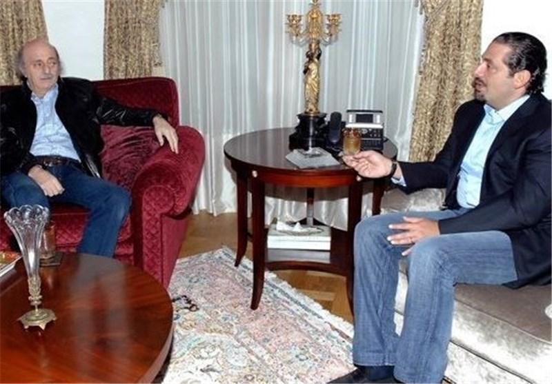 اجتماع بین الحریری وجنبلاط وبندر بن سلطان فی جدة