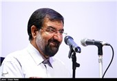 نشست محسن رضایی در دانشکده مدیریت دانشگاه تهران