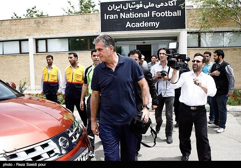 نشست خبری کی روش سرمربی تیم ملی فوتبال ایران