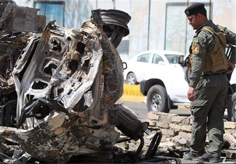 عشرات القتلى والجرحى فی 8 انفجارات وقعت الیوم بشکل متزامن فی العاصمة العراقیة