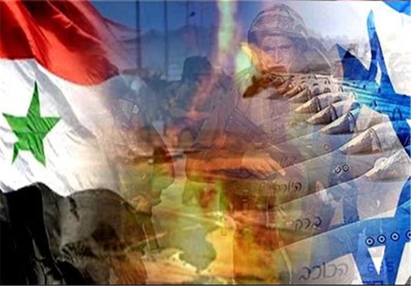 جیش العدو الصهیونی یقصف موقعا عسکریا سوریا رداً على نیران قرب الجولان