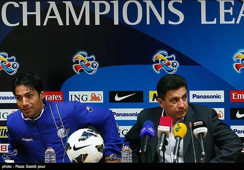 نشست خبری تیم های فوتبال استقلال و الشباب امارات