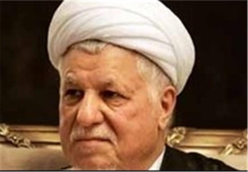 الشیخ رفسنجانی یعلن دعم المرشح الاصلاحی روحانی بالانتخابات الرئاسیة