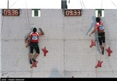 سنگنوردی قهرمانی آسیا|علیپور حذف شد
