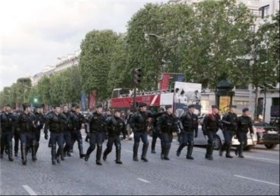 یگانهایی از ارتش فرانسه برای تقویت امنیت پاریس وارد عمل شدند