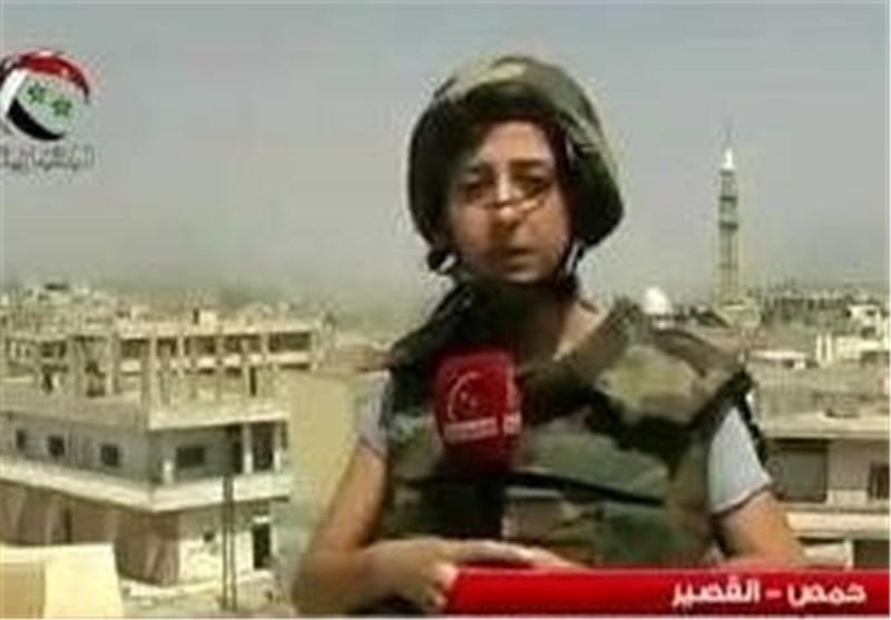 یارا عباس خبرنگار الاخباریه سوریه