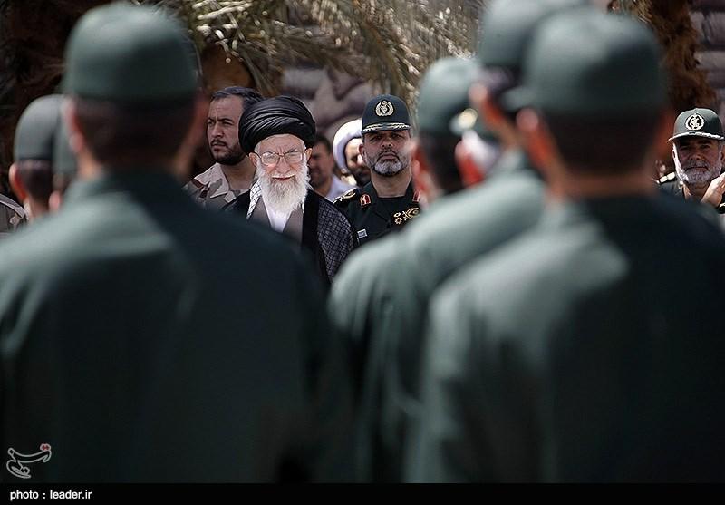 Carry On Resolutely, Leader Tells IRGC Staff