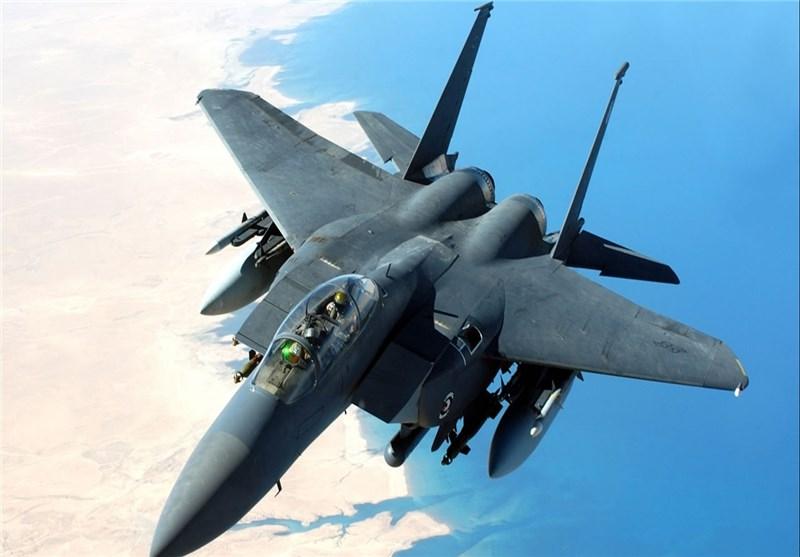 الدفاع الجوی الیمنی یسقط طائرة اف 15 سعودیة