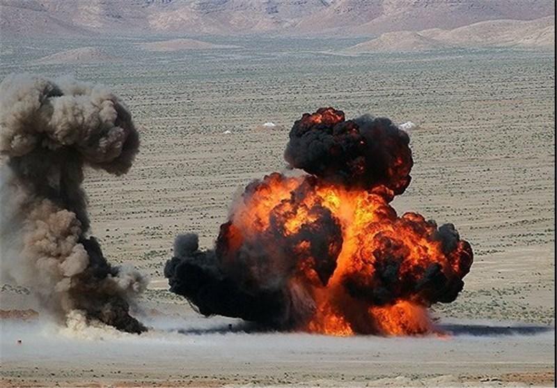 رزمایش تاکتیکی گروه توپخانه 61 محرم در منطقه تربت حیدریه