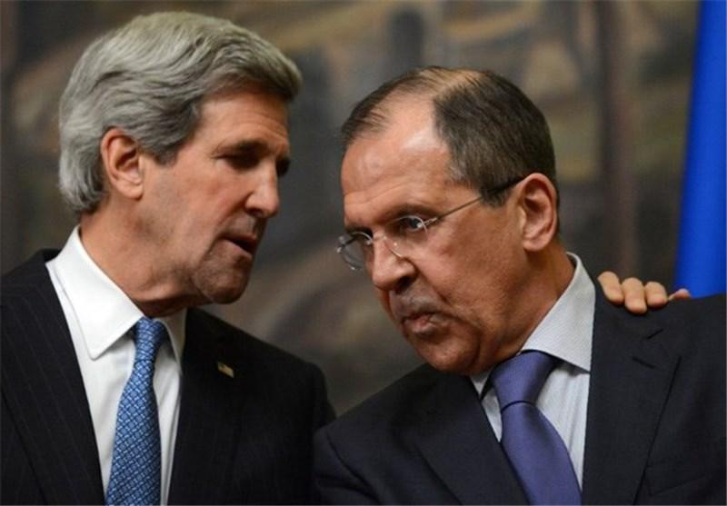 شام بحران کے بارے میں لاوروف اور کیری کی ٹیلیفونک گفتگو
