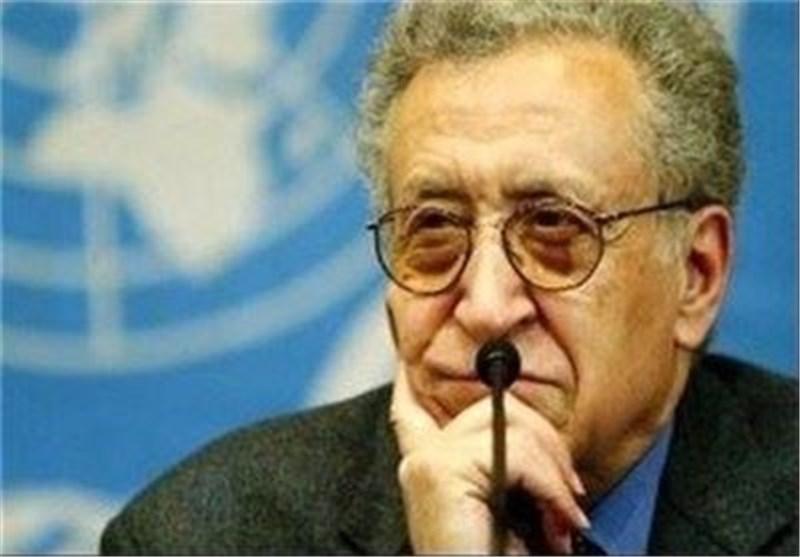 الإبراهیمی یصل أنقرة لبحث جنیف 2 مع المعارضة السوریة والمسؤولین الأتراک .. وغدا فی طهران