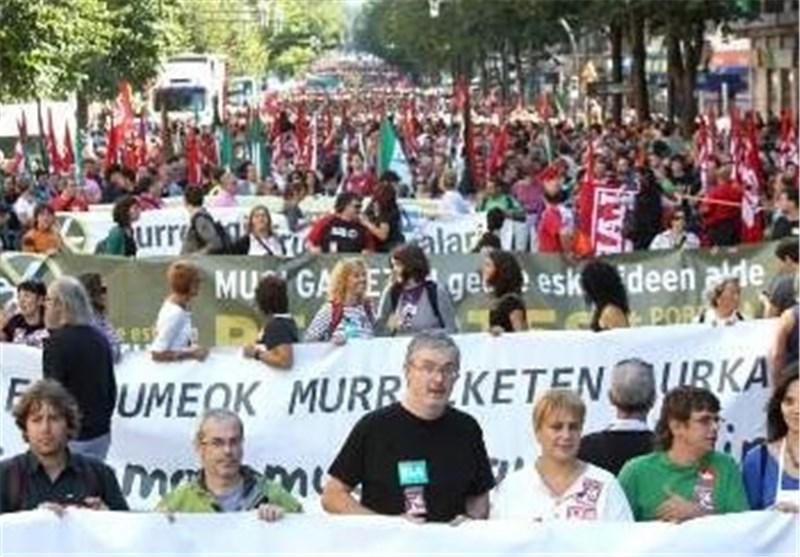 Basques March in Support of ETA Prisoners despite Madrid Ban