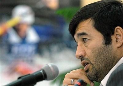 احمد دنیامالی در سوگ فرزند نشست