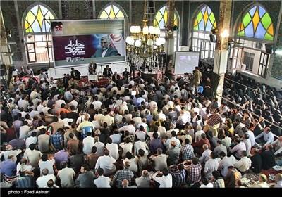 استقبال حماسی مردم رشت از سعید جلیلی