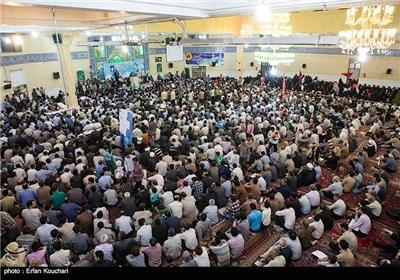 استقبال حماسی مردم قزوین از سعید جلیلی