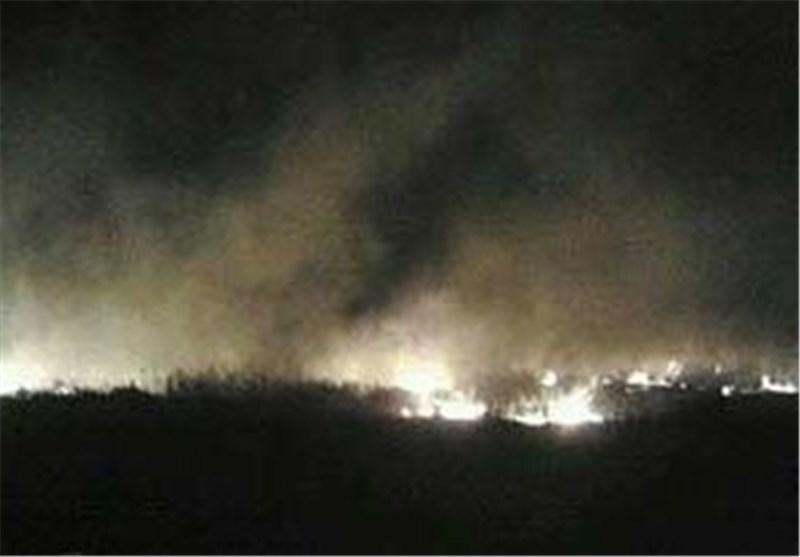 اصابت دو موشک به روستایی در منطقه بقاع لبنان
