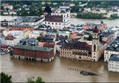 Storm Sweeps over Western Europe, Floods Streets, Basements