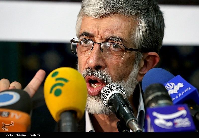 سخنرانی حدادعادل نامزد یازدهمین دوره انتخابات ریاست جمهوری در مسجد جابری