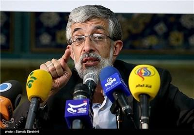 المرشح الاصولی حداد عادل: شعبنا شعب حسینی و لن یتنازل عن عزته وکرامته أمام الضغوط