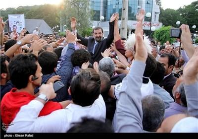 زیارة المرشح الرئاسی محسن رضایی الى مدینة کرکان