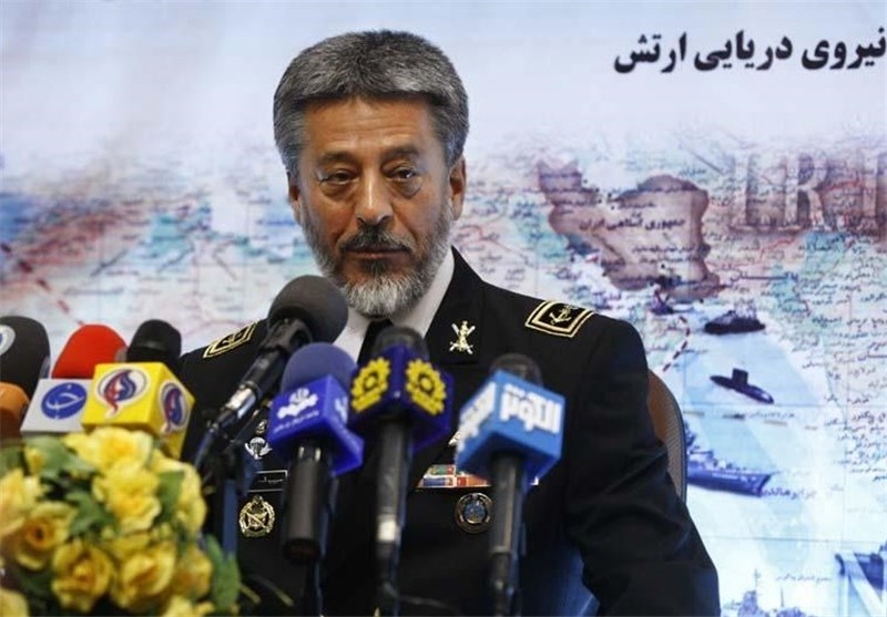 Commander Underlines Strong Naval Presence in Caspian Sea