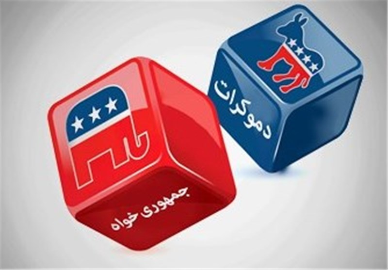 جمهوری خواه دموکرات انتخابات آمریکا